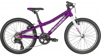 "Bergamont Bergamonster 20 Girl 20"" kids bike size 26 cm purple/white/pink (shiny) 2019"