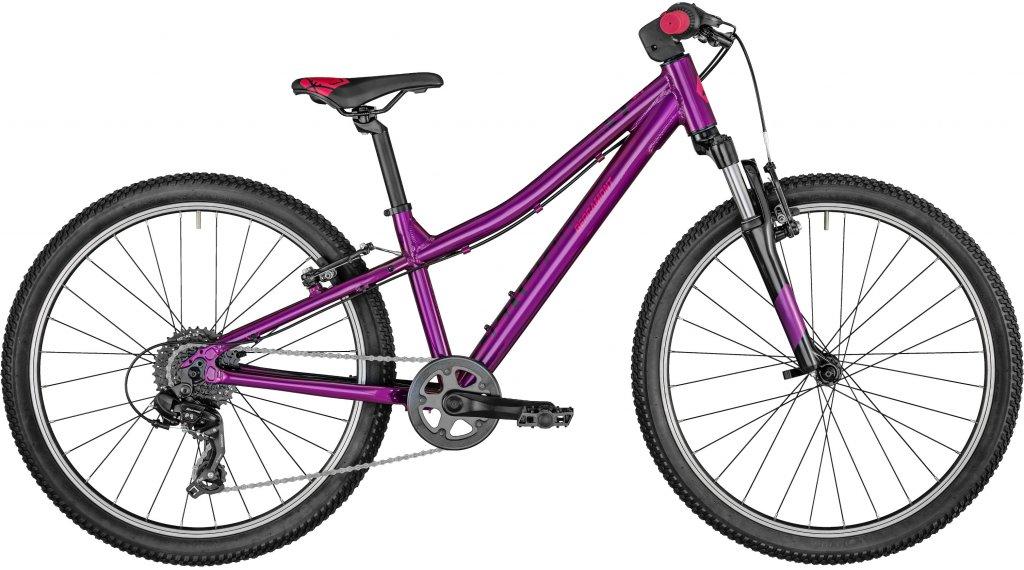 Bergamont Revox Girl 24 MTB(山地) 整车 儿童 型号 31厘米 紫红色/black/red 款型 2021