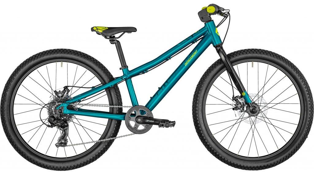 Bergamont Revox Lite Girl 24 MTB bici completa bambini mis. 31cm turquiose/nero/lime giallo mod. 2021