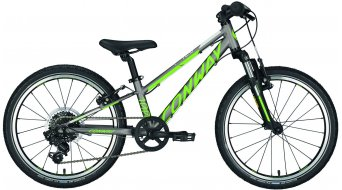"Conway MS 100 20"" MTB bike kids bicycle size 23cm grey matt/lime 2018"