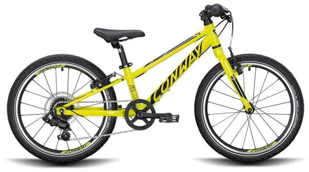 """Conway MS 200 20"""" MTB(山地) 整车 儿童 型号 23厘米 acid/black 款型 2020"""