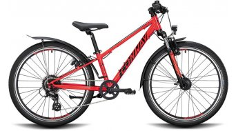 "Conway MC 240 24"" MTB Komplettrad Kinder Gr. 28cm red/black Mod. 2021"