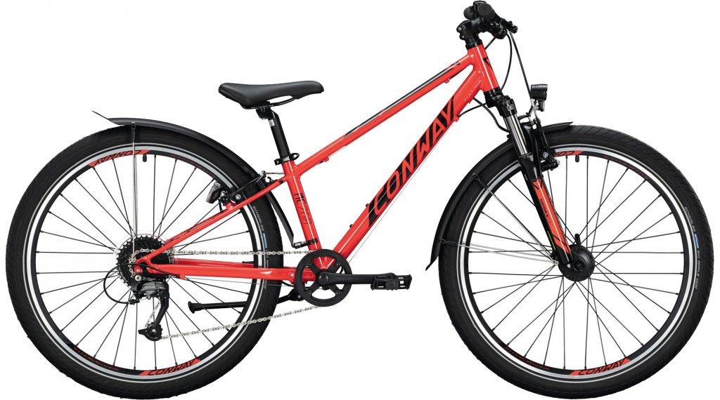 "Conway MC 260 26"" MTB Komplettrad Kinder Gr. 38cm red/black Mod. 2021"