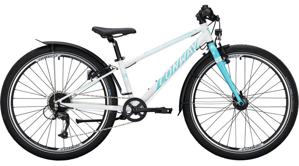 "Conway MC 260 26"" MTB Komplettrad Kinder Gr. 38cm white/turquoise Mod. 2020"