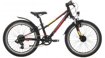 """Conway MC 200 20"""" MTB bici completa bambini mis. 23cm nero/rosso mod. 2021"""