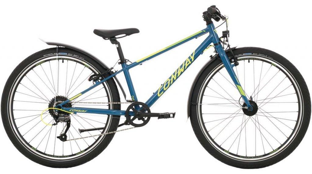 "Conway MC 260 26"" MTB Komplettrad Kinder Gr. 31cm blue/lime Mod. 2020"