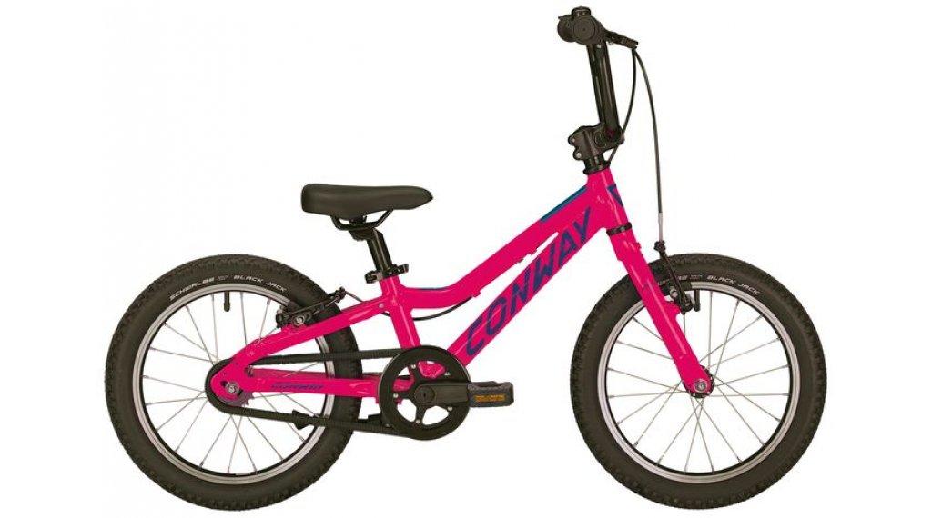 """Conway MS 16 16"""" MTB bicicletta completa per bambini mis. 20cm berry mod. 2019"""