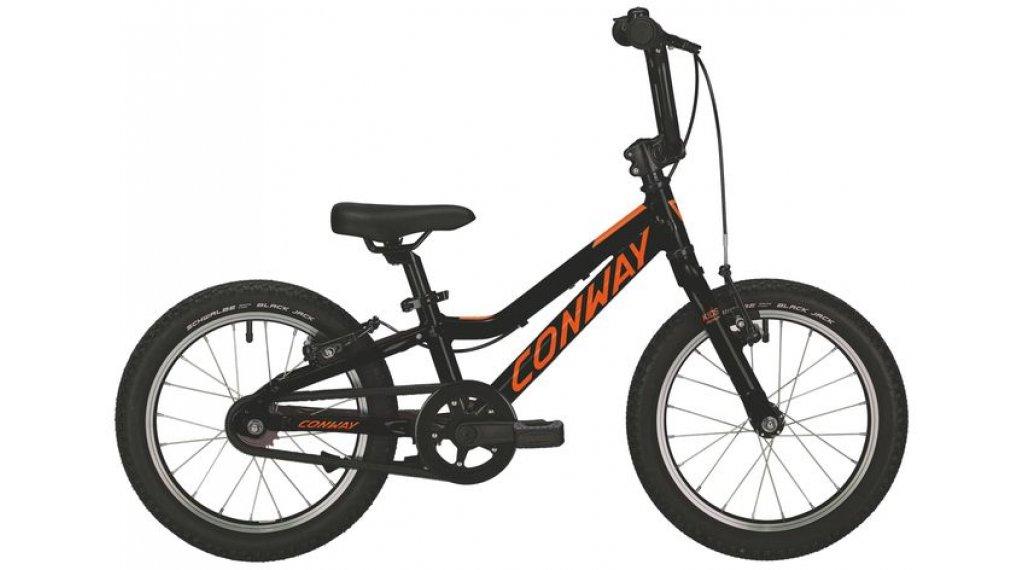"""Conway MS 16 16"""" MTB bicicletta completa per bambini mis. 20cm black mod. 2019"""