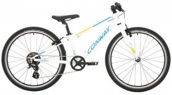 """Conway MS 240 Rigid 24"""" MTB Komplettrad Kinder Gr. 28cm white/blue Mod. 2021"""