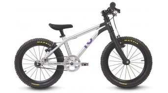 "Early Rider Belter Trail 16 Komplettrad Kinder 16"" Singlespeed Belt Drive brushed aluminium/black"