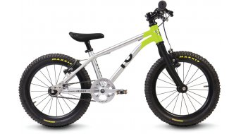"Early Rider Belter Trail 16 vélo pour enfant 16"" Singlespeed Belt Drive brushed aluminium/lime"