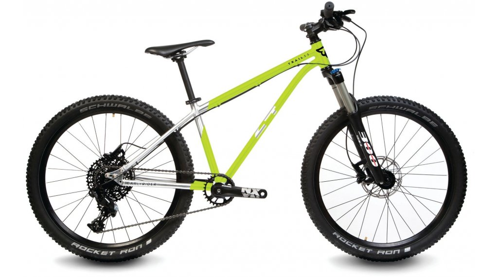 "Early Rider Hellion Trail 24 Kinderrad 24"" NX 11-Gang brushed aluminium/lime"