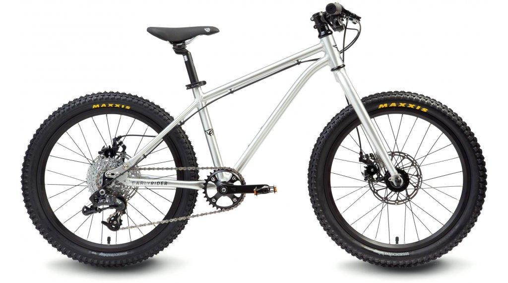 "Early Rider Hellion Trail 20 儿童运动单车 20"" X5 9档位 brushed aluminium"