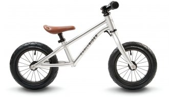 "Early Rider Runner Urban 12 wheel kids bike 12"" brushed aluminium"