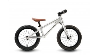 "Early Rider Runner Trail 14 Laufrad Kinderrad 14"" brushed aluminium"