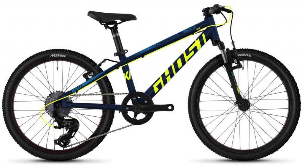 "Ghost Kato 2.0 AL U 20"" MTB Komplettrad Kinder Gr. unisize night blue/neon yellow/riot blue Mod. 2020"