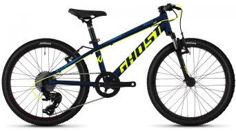 "Ghost Kato 2.0 AL U 20"" MTB(山地) 整车 儿童 型号 均码 night blue/neon yellow/riot blue 款型 2020"
