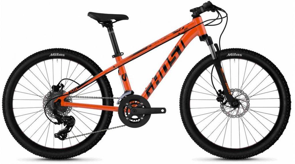 "Ghost Kato D4.4 AL U 24"" MTB Komplettrad Kinder Gr. unisize monarch orange/jet black Mod. 2020"