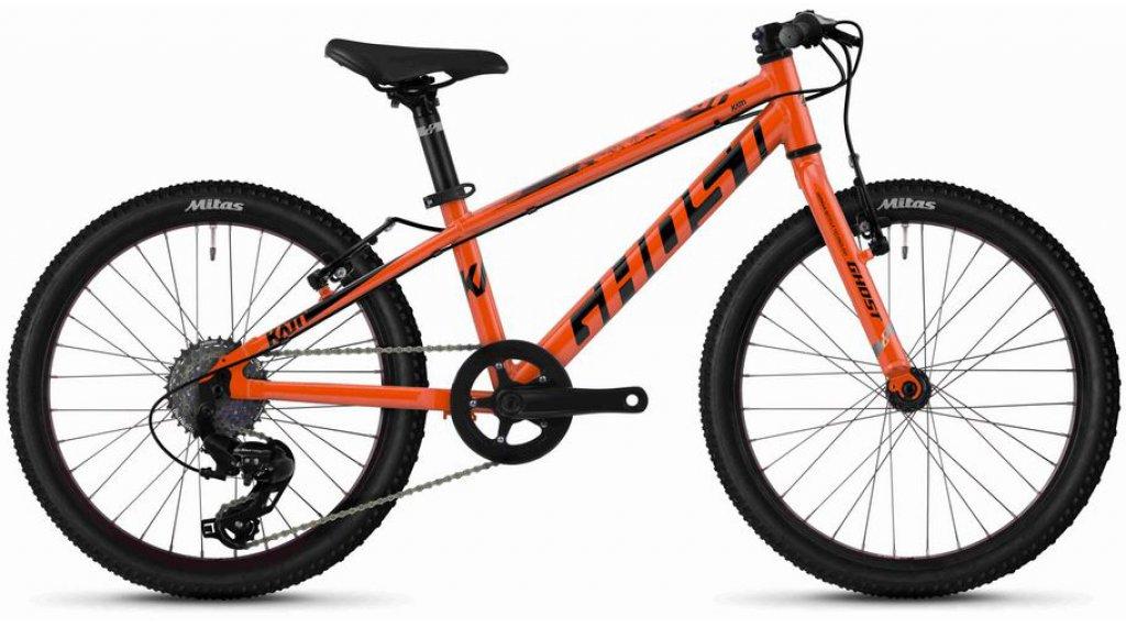 "Ghost Kato R1.0 AL U 20"" MTB(山地) 整车 儿童 型号 均码 monarch 橙色/jet black 款型 2020"