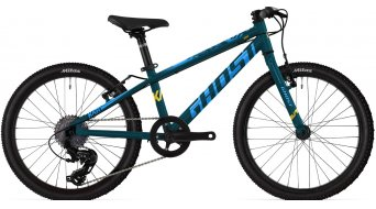 Ghost Kato Base 20 MTB bike kids size  unisize petrol/shrillocea/riotblue 2021