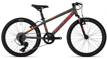 Ghost Kato Essential 20 MTB bike kids size  unisize darksilver/red/riotblue 2021