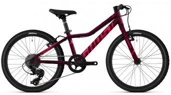 Ghost Lanao Base 20 MTB bike kids size  unisize blackberry/coralpink/riotblue 2021