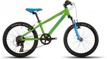 Ghost Powerkid 20 bike kids bicycle green/cyan/black 2016