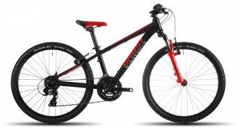 Ghost Powerkid 24 bike kids bicycle black/red/gray 2016