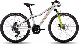 Ghost Lanao 4 AL disc 24 kids bicycle bike unisize star white/lime green/monarch orange 2017