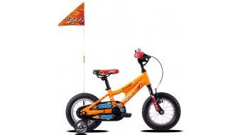 """Ghost Powerkid AL 12"""" komplett kerékpár gyermek Méret unisize juicy narancs/riot red/riot blue 2019 Modell"""