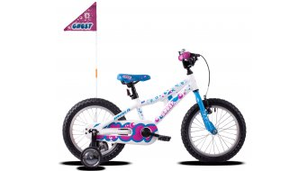 Ghost Powerkid AL 16 bike kids size  unisize star white/riot blue/dark fuchsia pink 2021
