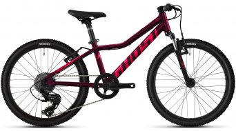 Ghost Lanao Essential 20 MTB bike kids size  unisize blackberry/coralpink/riotblue 2021