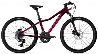 Ghost Lanao Essential 24 MTB bike kids size  unisize blackberry/coralpink/riotblue 2021