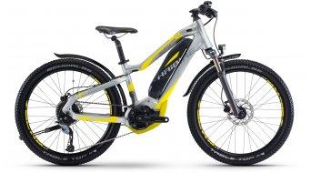 Haibike SDURO HardFour Life Street 4.5 24 E-Bike bici da bambino/ragazzo mis. 34cm argento/neon giallo Yamaha PW- trasmissione mod. 2017