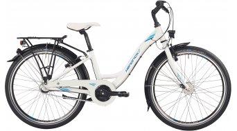 "Hendricks CR 24 Wave 24"" kids/youth bike size 32cm white/petrol/blue"
