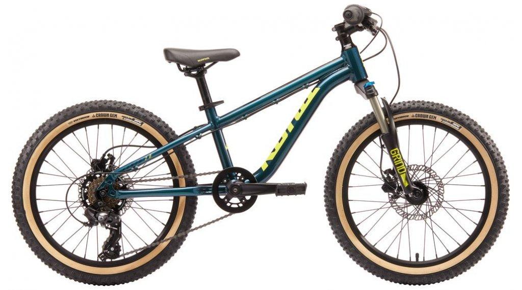 """KONA Honzo 20"""" kids MTB bike size 20"""" slate blue 2020"""