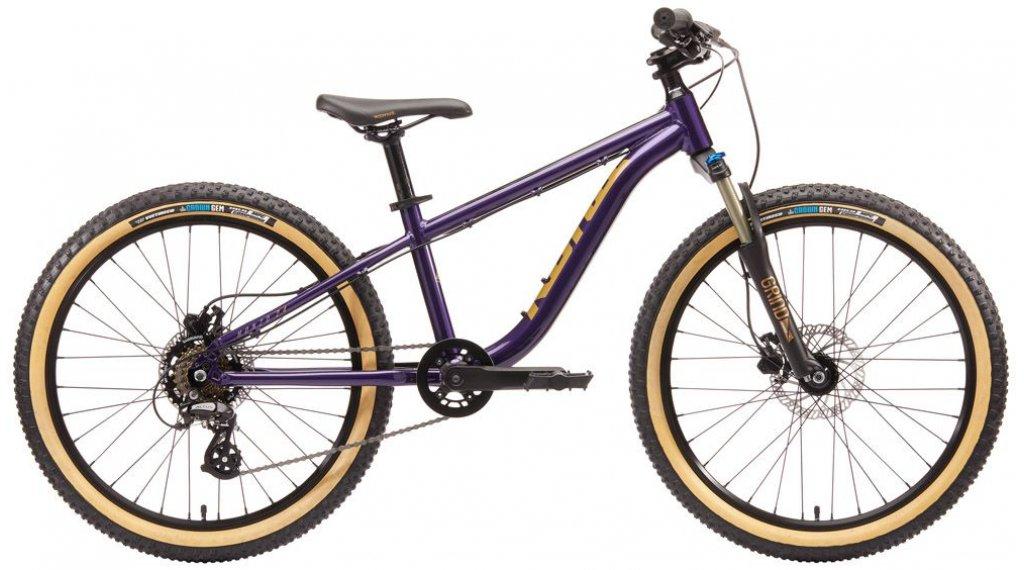 "KONA Honzo 24"" kids MTB bike size 24"" ultraviolet 2020"