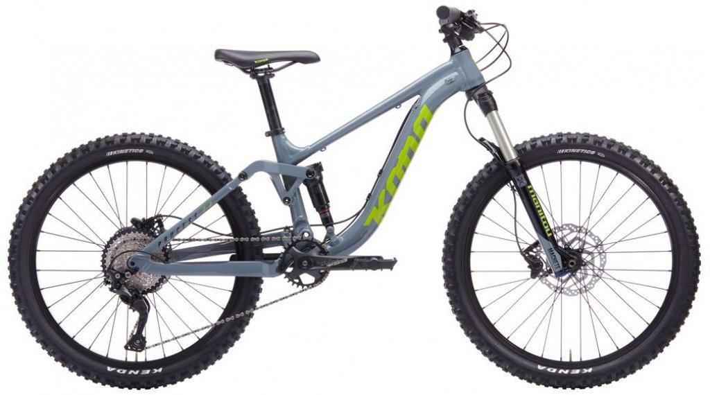 "KONA Process 24 24"" MTB bike size 24"" battleship gray 2020"