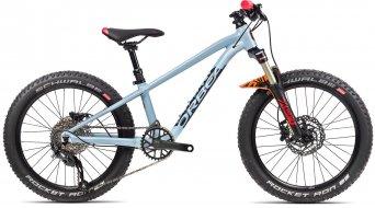 Orbea Laufey H20 20 MTB bici completa bambini mis.  unisize blu grigio/gloss bright rosso mod. 2021
