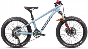 Orbea Laufey H20 20 MTB bike kids size  unisize blue grey/gloss bright red 2021