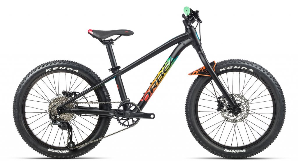 Orbea Laufey H30 20 MTB(山地) 整车 儿童 型号 均码 matte black/gloss rainbow 款型 2021
