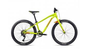Orbea Mx24 Team 24 MTB bici completa bambini mis.  unisize lime/gloss watermelon mod. 2021