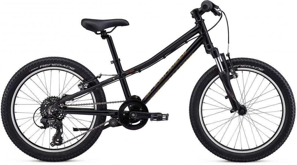 """Specialized Hotrock 20"""" MTB bici completa bambini mis. 22.9cm (9"""") black/74 fade mod. 2020"""