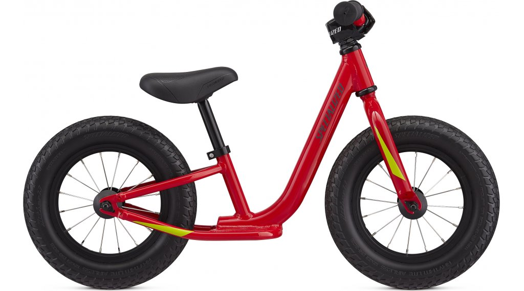 "Specialized Hotwalk ruota bici completa bambini mis. 12.7cm (5"") flow red/hyper green/slate reflective mod. 2020"