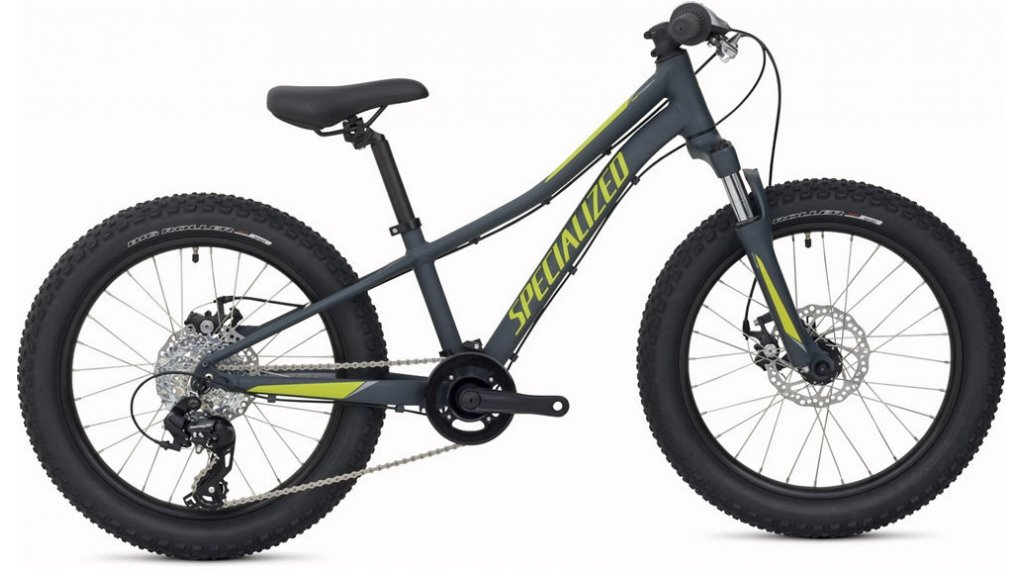 "Specialized Riprock 20"" MTB(山地) 整车 儿童 型号 22.9厘米 (9) carbon grey/hyper/酷灰色 款型 2020"