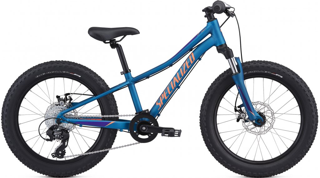 "Specialized Riprock 20"" MTB(山地) 整车 儿童 型号 22.9厘米 (9"") 海军蓝 blue/plum purple/acid lava 款型 2020"