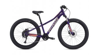 "Specialized Riprock Comp 24"" 整车 儿童 型号 27.9厘米 (11"") plum purple/acid lava/ice lava 款型 2020"