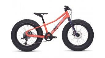 Specialized Fatboy 20 Fatbike komplett kerékpár gyermek-Rad Méret 27,9cm (11) satin coral/deep indigo/powder indigo/powder coral 2017 Modell