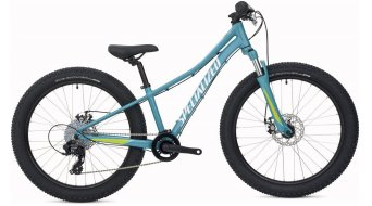 Specialized Riprock 24 Fattie MTB kids bicycle bike size 27,9cm (11) pearl turquoise/pearl light turquoise/pearl hyper 2020