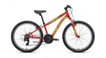 Specialized Hotrock 24 21-spd Boy MTB Komplettrad Kinder-Rad Gr. 27,9cm (11) nordic red/hyper green Mod. 2018